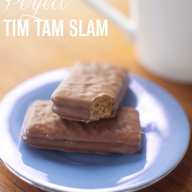 Perform a Tim Tam Slam - Bucket List Ideas
