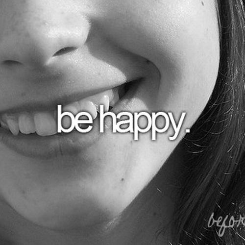Be Happy - Bucket List Ideas
