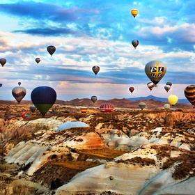 Ride a hot air balloon in Cappadocia, Turkey - Bucket List Ideas