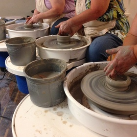 Take a wheel pottery class and make a vase - Bucket List Ideas