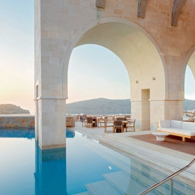 Stay at the Blue Palace in Crete, Greece - Bucket List Ideas