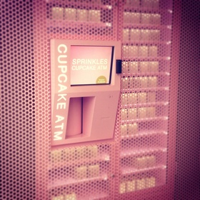 Get a cupcake from the cupcake ATM - Bucket List Ideas