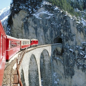 Ride the Glacier Express in Switzerland - Bucket List Ideas