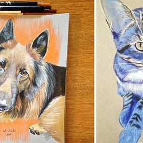 Filling a Sketchbook full of drawings paintings - Bucket List Ideas