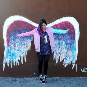 Take a photo in front of angle wings in Los Angeles - Bucket List Ideas