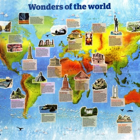 See the wonders of the world! - Bucket List Ideas