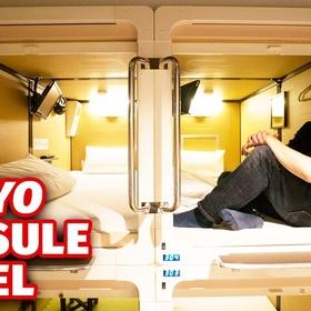 Stay in Capsule Hotel In Japan - Bucket List Ideas