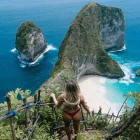 Visit Kelingking Beach~ Bali - Bucket List Ideas
