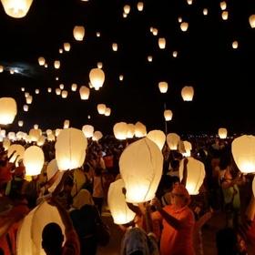 Release a sky lantern - Bucket List Ideas