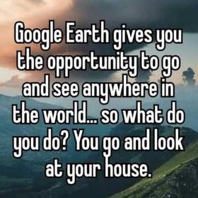 Add a photograph that I've taken onto Google Earth - Bucket List Ideas