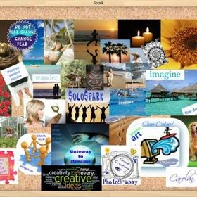 Craft: Make a Vision Board/ Inspiration Board - Bucket List Ideas