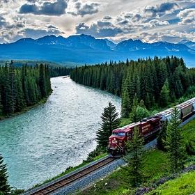 Take a Train Trip Across Canada - Bucket List Ideas