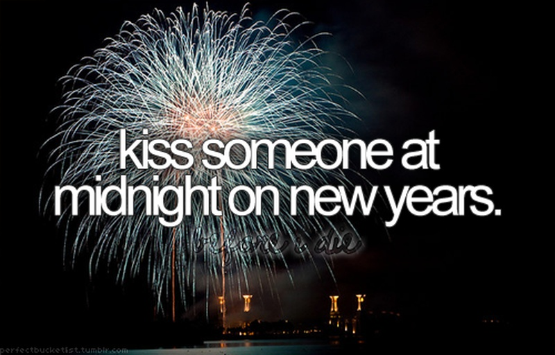 why do you kiss on new year eve