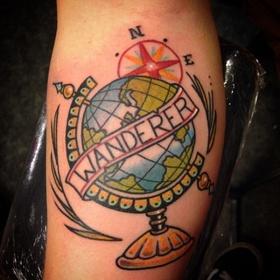 Get a Travel Tattoo - Bucket List Ideas