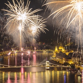See fireworks on St. Stephen's Day in Budapest (August 20) - Bucket List Ideas