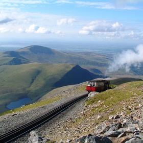 Ride the Snowdon Mountain Railway in Wales - Bucket List Ideas