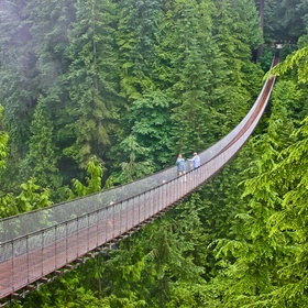 Walk on Capilano Suspension Bridge - Bucket List Ideas