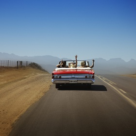 Go on a road trip with no set destination! - Bucket List Ideas