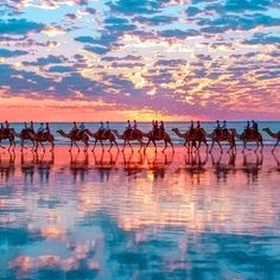 Ride a camel on Cable Beach - Bucket List Ideas