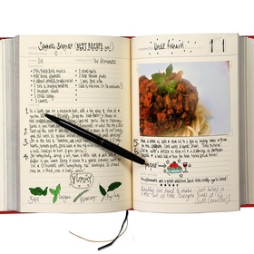 Start a cookbook - Bucket List Ideas