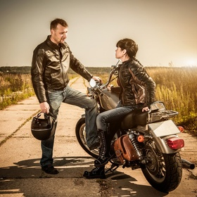 Ask stranger for a ride on their motorcycle - Bucket List Ideas