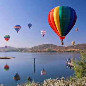 Ride in hotair balloon - Bucket List Ideas