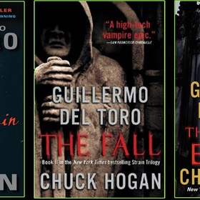 "Read ""The Strain"" Trilogy  by Guillermo del Toro and Chuck Hogan - Bucket List Ideas"