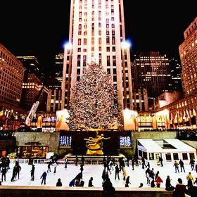 Ice Skate in Rockefeller Center at Christmas - Bucket List Ideas