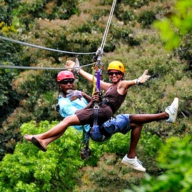 Take a Canopy Zipline Tour - Bucket List Ideas