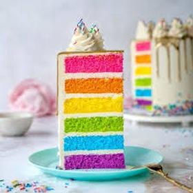 Bake a rainbow cake - Bucket List Ideas