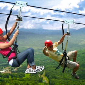 Go ziplining - Bucket List Ideas