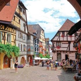 Walk through the Medieval streets of Riquewihr - Bucket List Ideas
