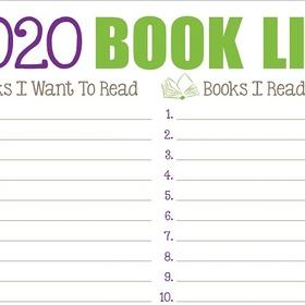 Start and Finish a 2020 Reading List - Bucket List Ideas
