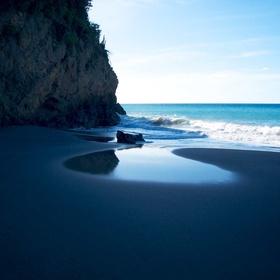Walk on a Black Sand Beach - Bucket List Ideas