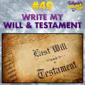 write my will