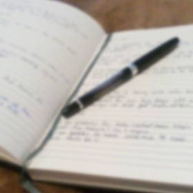 Write in a gratitude journal every day for a year - Bucket List Ideas