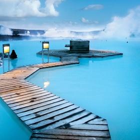 Swim in Blue Lagoon in Iceland - Bucket List Ideas