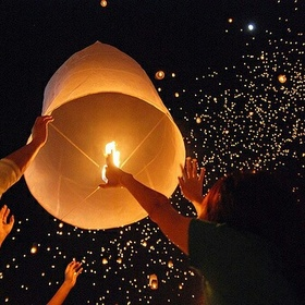 Let Go of a Floating Lantern - Bucket List Ideas