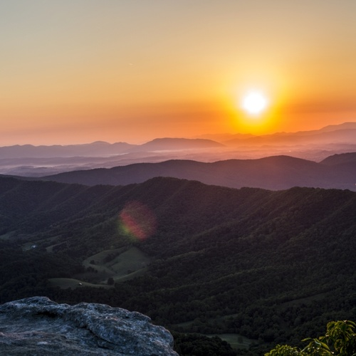 Watch the sunrise from the top of a mountain - Bucket List Ideas