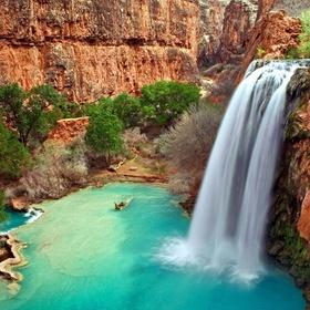 Travel to Havasu Falls in the Grand Canyon - Bucket List Ideas