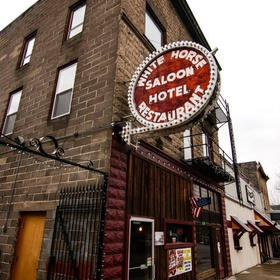 Stay at The White Horse Hotel, Saloon & Cafe in Idaho - Bucket List Ideas
