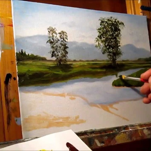 Beginning Oil Painting - Bucket List Ideas