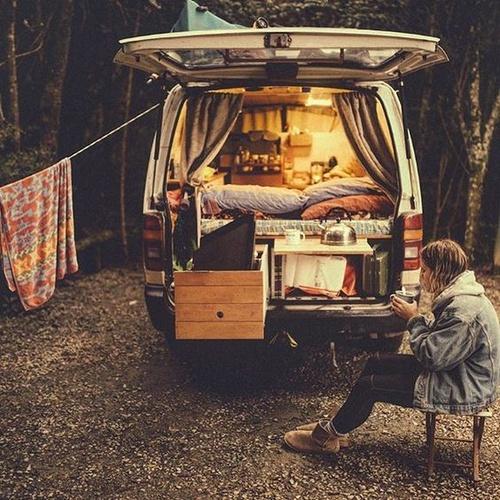 Living in a van for a few months - Bucket List Ideas