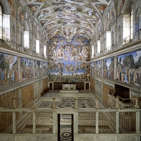 Stand in the Sistine Chapel - Bucket List Ideas