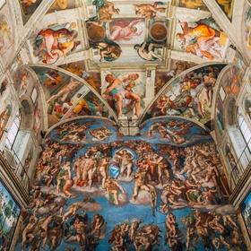 Visit the Sistine Chapel in Vatican, Rome - Bucket List Ideas