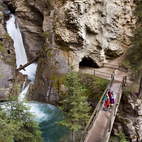 Explore Johnston Canyon in Canada - Bucket List Ideas