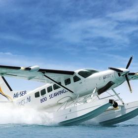 Arrive by seaplane - Bucket List Ideas