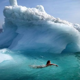 Swim in glacier waters - Bucket List Ideas