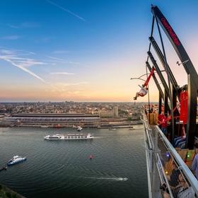 Swing on the Tallest Swing  in Europe - Bucket List Ideas