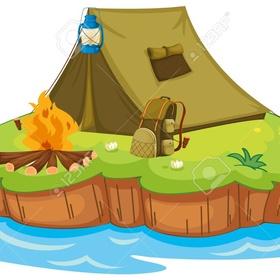 Camp on an uninhabited island - Bucket List Ideas